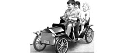 1901 touring car replica kids electric car diy plans