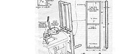 tractor fork lift attachment vintage free diy plans drawings how to