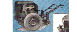 Make a walk-behind homebuilt tractor out of old car parts diy plans